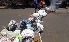 El barrio del intendente sin recolección de residuos
