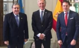 España: Puerta recibió al presidente de la AEA