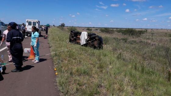 Policía confirma que Degiusti perdió el control de la camioneta