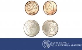 Circulan nuevas monedas de $1 y $5