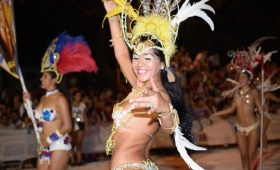 Daysi Samba Show abre la primera noche de carnaval