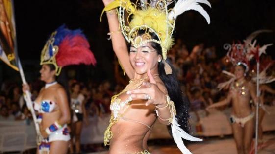 Carnavales posadeños en la Costanera
