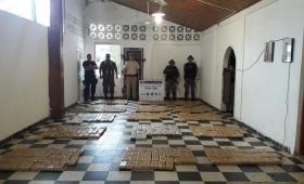 Nuevo golpe al narcotráfico en Itatí: casi media tonelada de marihuana