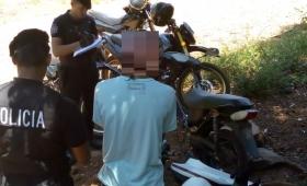 """Oberá: detenido """"con las manos en la moto"""""""