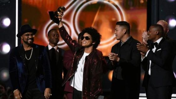 Premios Grammy 2018: Bruno Mars, el gran ganador de la noche