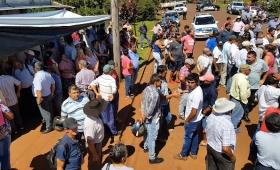 San Vicente: usuarios de EMSA levantaron la protesta