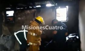 Fuego y temor en la Chacra 112