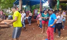 Tareferos de Oberá protestaron en Posadas