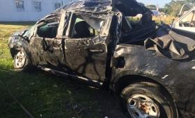 Trágico accidente de familia misionera en Paso de los Libres