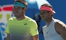 Mayer cayó con Nadal y Schwartzman avanzó en Australian Open