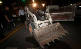 Plaza de Mayo: desalojaron a ex conscriptos de la Guerra de Malvinas
