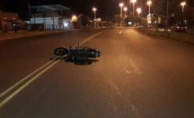 Un motociclista falleció tras un despiste en Posadas