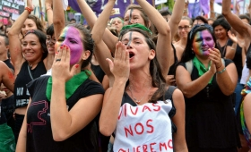 Anuncian un nuevo paro internacional de mujeres