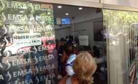 Vecinos contra el tarifazo de EMSA realizarán una sentada