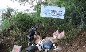 Contrabando: secuestraron más de 600 mil pesos en cigarrillos