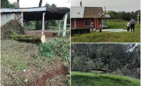 Temporal: varios afectados en San Pedro y San Vicente