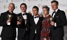 """""""Tres anuncios por un crimen"""", la gran ganadora de los BAFTA 2018"""