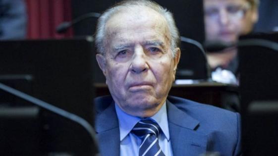 Para Menem, a Nisman lo mandó a matar un sector del Gobierno de CFK