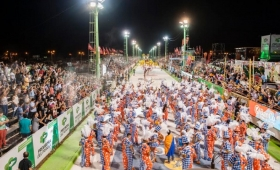 Más de 20 mil personas en el Carnaval en Corrientes