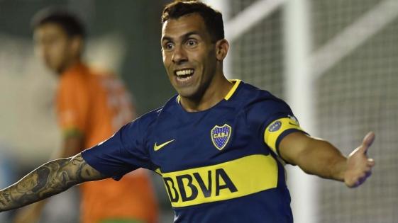 """Tevez: """"Me gustó el Boca del primer tiempo"""""""