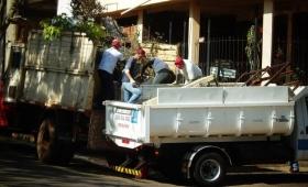 Dengue: retiraron 1400 toneladas de residuos de hogares