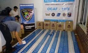 La Policía de Misiones incautó más de 5 mil gruesas de cigarrillos en lo que va del año