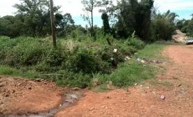 Piden limpieza y arreglo de calles en Chacra 192