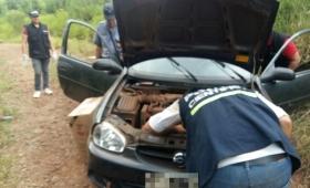 Contrabandista a los tiros en Garuhapé
