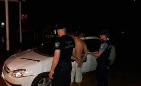Campo Viera: fue detenido por amenazar a su vecina con un machete