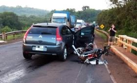 Motociclista falleció atropellado por conductor ebrio