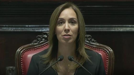 Vidal inauguró las sesiones en la Legislatura bonaerense