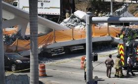Miami: continúa la búsqueda de sobrevivientes entre los escombros
