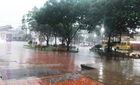 Alerta meteorológico por temporal en Misiones