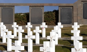 Regresaron al continente los familiares de los caídos en Malvinas