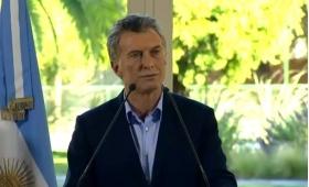 """La baja de pobreza """"da esperanzas"""", dijo Macri"""