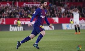 Messi salvó al Barcelona de la derrota en Sevilla