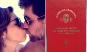 Se casó Dalma Maradona