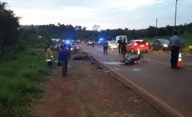 Choque en ruta 103: un muerto y dos heridos de gravedad