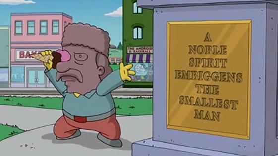Una palabra inventada en Los Simpson ha sido aceptada en el diccionario