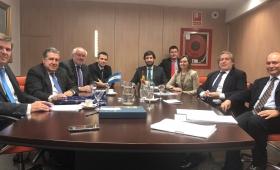 Puerta se reunió con el Secretario de Pesca de España