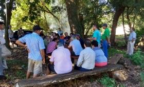 Yerbateros amenazan con un nuevo tractorazo Misiones