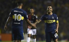 Tevez y Cardona se perderán el partido contra Talleres