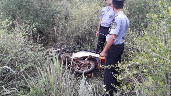 En Bonpland y Alem, la policía recupero objetos robados