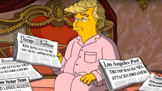 Los defectos de Trump en el nuevo corto de Los Simpson