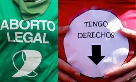 Contrapunto entre Minder y Rebollo por el aborto legal