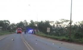 Choque fatal en Oberá: murió un motociclista