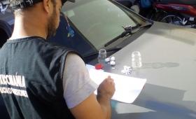 Hallaron cocaína en un vehículo secuestrado en Chacra 32-33