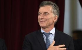 El presidente Macri regresa a Buenos Aires