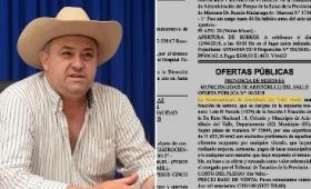 Insólito: venden una plaza pública en Aristóbulo