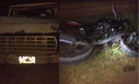 Motociclista murió atropellado en Aristóbulo del Valle